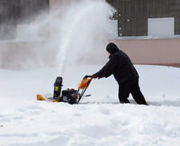 T and K residential  snow removal