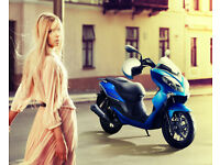 Keeway Cityblade 125cc Moped Learner Legal Scooter with BRAND NEW 2016 Reg