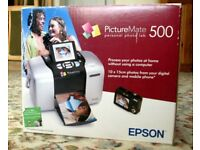 Epson Picture mate 500 printer (for printing photo's without a computer)