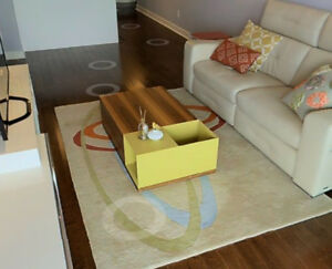Casalife Coffee Table with Storage