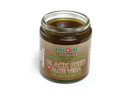 Black Seed & Aloe Vera Hair Pomade | Retain Moisture, Nourish Hair Roots, Repair