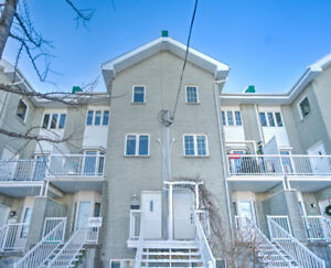 Two storey apartment in Rosemont(MONTREAL) for sale! $348800