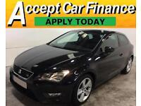 Seat Leon 2.0TDI ( 184ps ) ( s/s ) 2013MY FR FROM £46 PER WEEK!