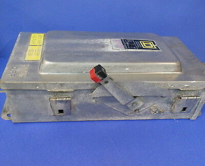 Square D Safety Switch 600v 100 Amps Hu363ds