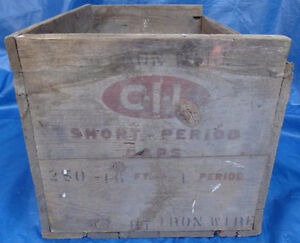 RP1511 Vtg CIL Short Period Electric Blasting Caps Dynamite Box Kawartha Lakes Peterborough Area image 1
