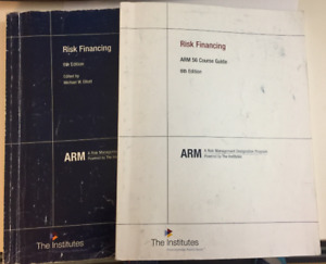 ARM56 - Risk Financing Textbook &Course Guide