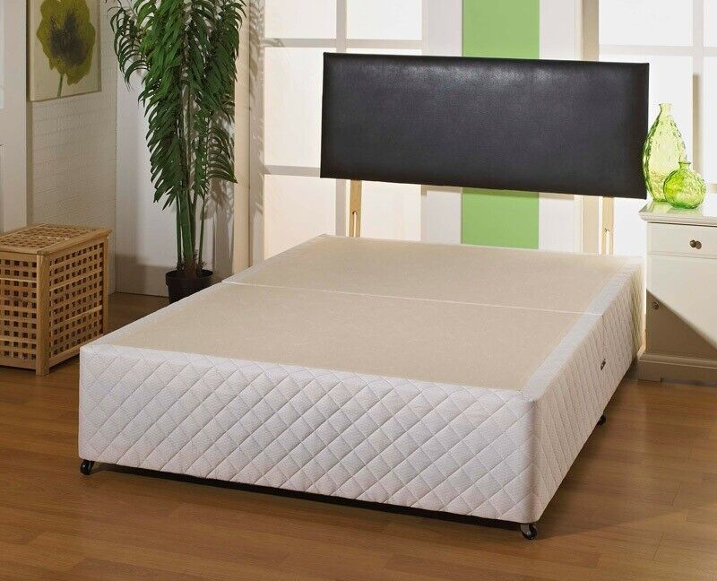 f407473b4e04 SAME DAY DELIVERY-BRAND NEW DOUBLE KING SIZE DIVAN BED BASE - HEADBOARD  DRAWERS OPTIONAL