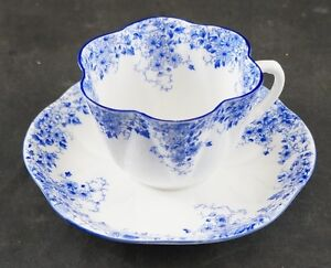 SEVERAL SHELLEY FINE CHINA CUPS AND SAUCERS IN STOCK FROM $20