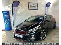 2013 63 KIA PRO CEED 1.6 GT TECH 3D 201 BHP