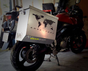 VSTROM OWNERS!   650&1000  ALUMINUM LUGGAGE