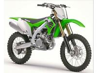 2019 KAWASAKI KXF 450 MOTOCROSS BIKE, ELECTRIC START