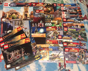 Various Lego Instruction Booklets