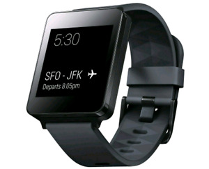 black LG G Watch