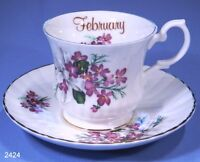 staffordshire fine bone china cup and saucer