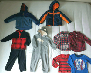 Baby Boys Clothes Lot 12/18 months