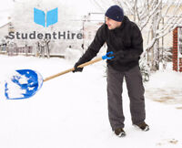 Snow & Ice Removal by StudentHire - As Seen On CTV & CBC!