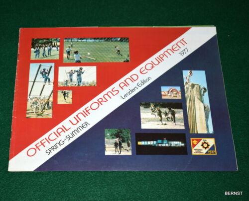BOY SCOUT - 1977 OFFICIAL CATALOG