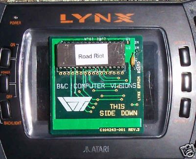 Road Riot 4WD Cartridge Lynx Atari Collectors!! New
