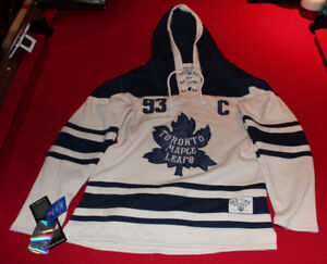 NWT Toronto Maple Leafs Hoodie Sweater - Gilmour M