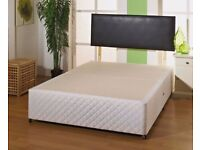 🌷💚🌷EXPRESS SAME DAY DELIVERY🌷💚🌷NEW DOUBLE DIVAN BED BASE WITH DIFFERENT TYPES OF MATTRESSES
