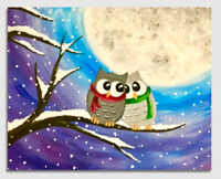 Paint Nite (this afternoon) for 2 (all ages)