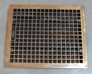 WANTED - OLD / ANTIQUE FLOOR VENT -  CAST IRON / STEEL