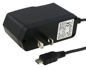 HOME TRAVEL AC WALL CHARGER FOR LG LS670 OPTIMUS S LS696 OPTIMUS ELITE