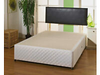 🔵💖SUPERB QUALITY🔵🔴DOUBLE/KING SIZE DIVAN BED BASE WITH OPTIONAL MATTRESS & HEADBOARD