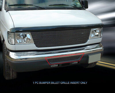 For 1992 2007 All Ford Econoline Billet Grille Lower Bumper Grill Insert Fedar