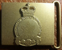Royal Canadian Legion Badge Engraving