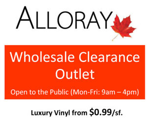Wholesale Flooring Clearance Outlet - Open to the Public