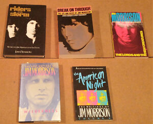 Jim Morrison - The Doors -  Rare books  on Jim and The Doors