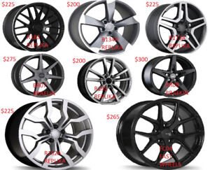 "Audi VW Mercedes BMW Volvo 19"" Mag Wheels And Tires New!!"