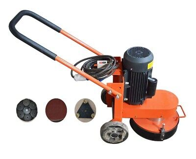 Concrete Floor Grinder 14.9 Hand-held Electric Floor Grinder Wheavy Duty Motor