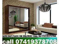 ALKA C Sliding Two Door Wardrob