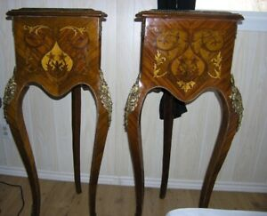 Pair Of Louis XV Stands/tables