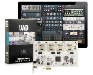 UNIVERSAL AUDIO - UAD PCIe QUAD CARD with many plugins!
