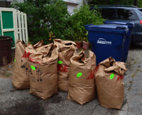LANDSCAPERS HELP!!! WE NEED YOUR BAGGED YARD WASTE!!!
