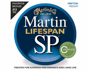 Martin MSP7200 Lifespan Phosphur Bronze .13-56 Medium Payer $20.