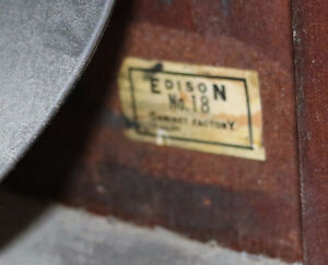 Antique Edison Diamond Disc Payer and Records, Man Cave Quality London Ontario image 8