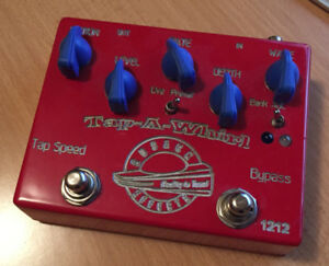 Cusack Tap-A-Whirl Tremolo Guitar Effect Pedal