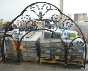 Welded steel arch 6 foot tall - have 2 of them London Ontario image 1