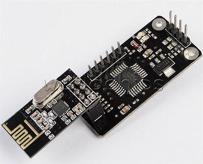 Arduino 2.4ghz Nrf24l01module With Wireless Shield Spi To Iic I2c Twi Interface