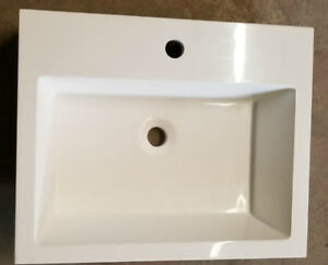 NEW!!! High Quality Drop-In Porcelain Sink 