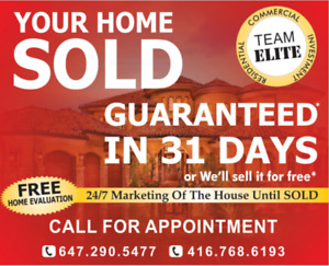 Buying or Selling - Detached, Semi and Townhomes