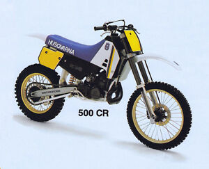 WANTED WANTED Husqvarna 500 CC water cooled
