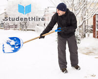 Snow and Ice Removal by StudentHire - You set the price !