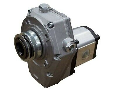 Hydraulic Pto Gearbox And Group 2 Pump Assembly 25cc 51.30 Lmin 9.94 Kw