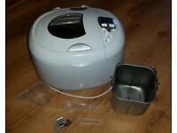 Morphy Richards Breadmaker bread machine with lots of extras