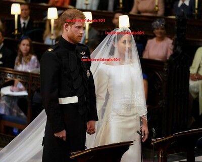 Royal Wedding Photo 8X10 Prince Harry Meghan Markle London England
